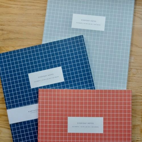 3 cahiers kartotek