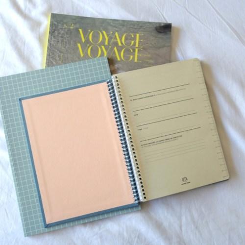 cahier pages intérieures