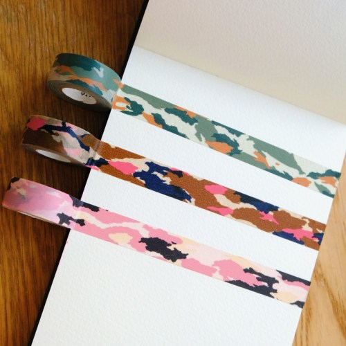 masking tape 3 couleurs camouflage