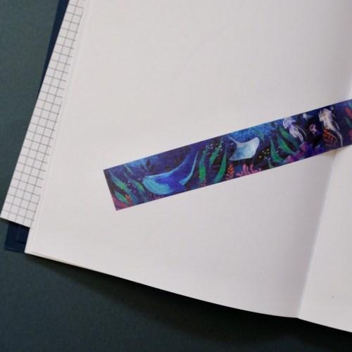 detail motif masking tape