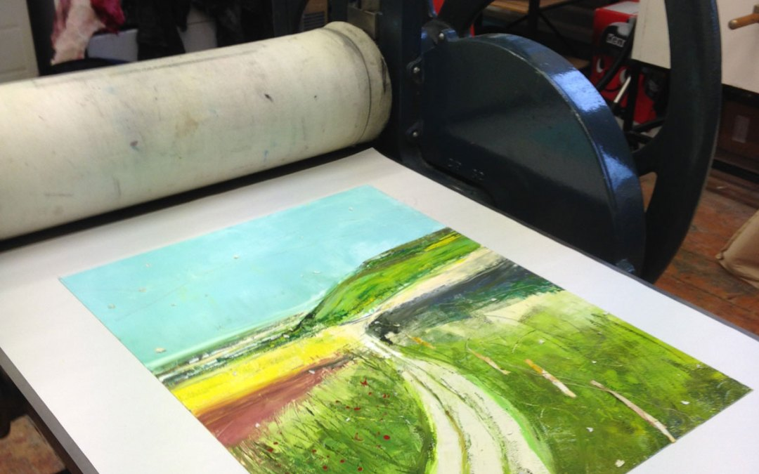 How's a Monoprint Made?