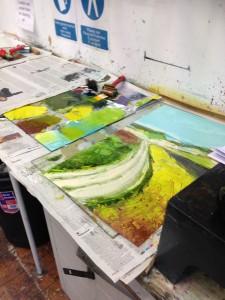 Printing-plate