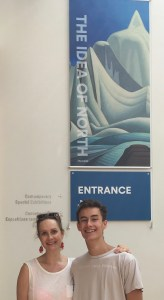 jack and I visit the exhibit