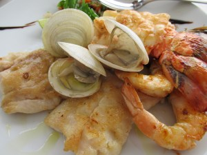 seafood platter at miamar