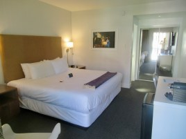 great bed at the burrard