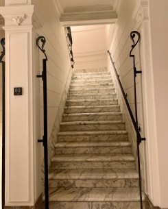 original marble stairs