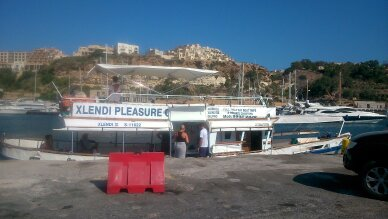 Xlendi boat