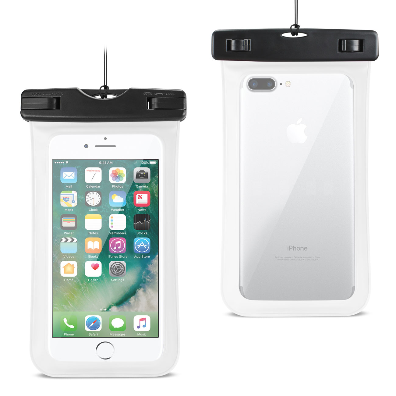 brand new a72be 6dd51 Reiko Waterproof Case For iPhone 6 Plus/ 6S Plus/ 7 Plus Or 5.5