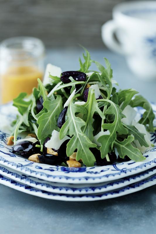 Salade de roquette fraîche et croquante