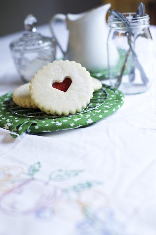 Les biscuits coeur