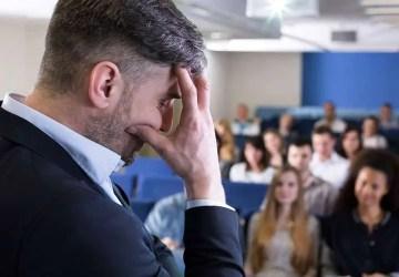 stressed leader