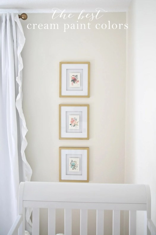 The Most Beautiful Cream Paint Colors Get Details At Julieblanner Com