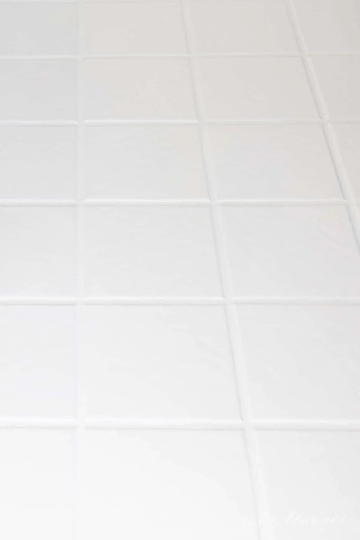 the ultimate tile grout refresh with