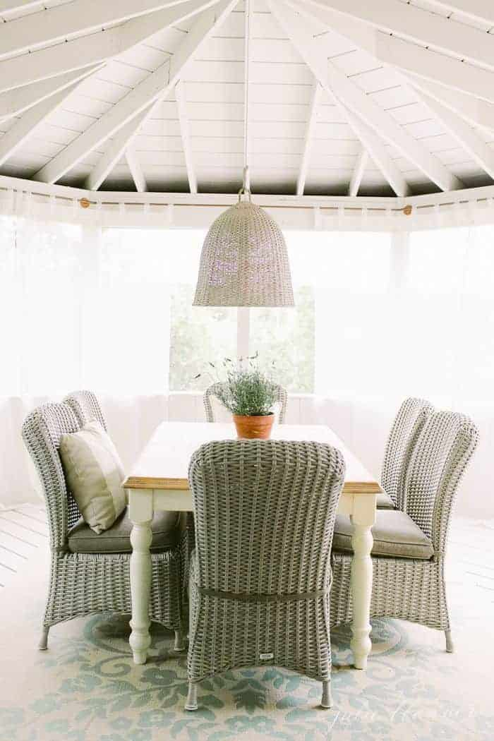 screened in porch ideas to add charm