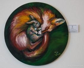 oil on canvas, 50cm