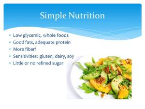 Get Your Healthy Back Simple Nutrition