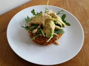 Sweet Potato Burger from the Made With Love cookbook