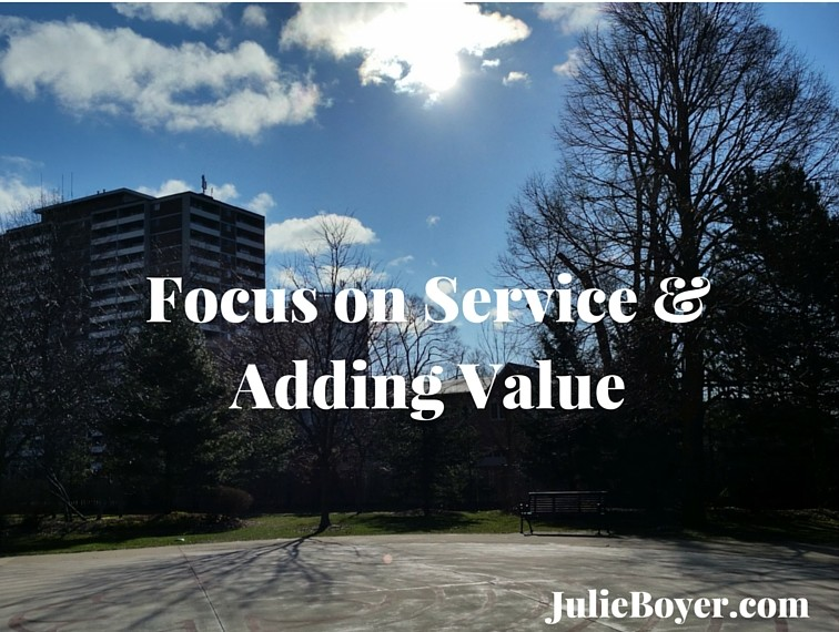 Are You Adding Value or Focused on Your Needs First?