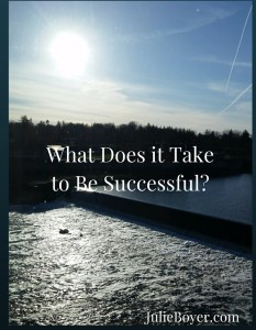 What Does it Take to Be Successful-