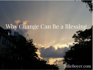 Why Change Can Be a Blessing