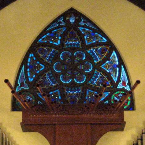 rose window from hoyt sherman