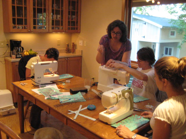 sewing party