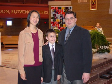 cole's first communion
