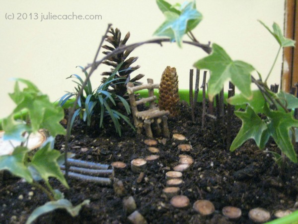 Fairy Garden, HLR Programs by Three Sisters, fun homeschool events