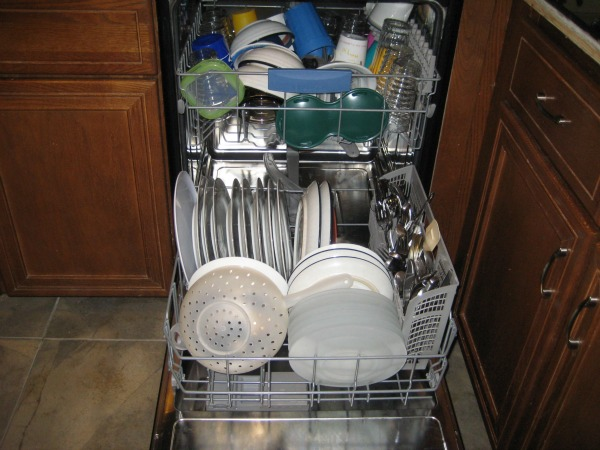 inside juliecache's new bosch dishwasher