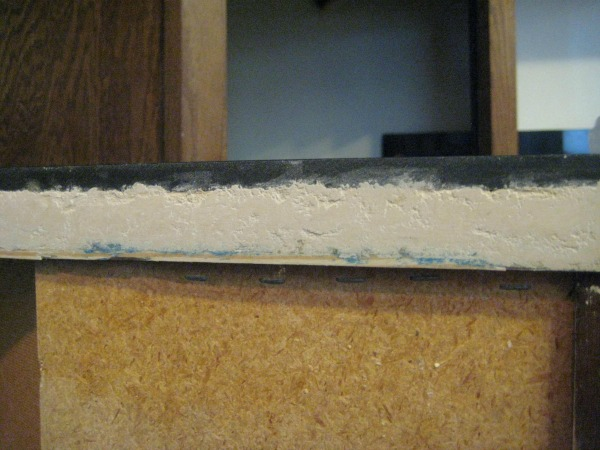 counter wood putty