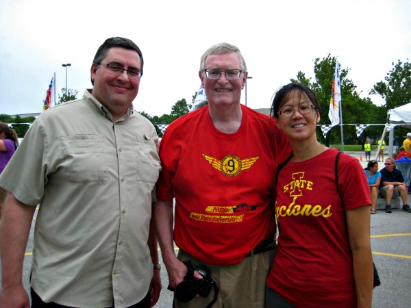 Mr. TellBlast, Dr. Hill, and me June 2015