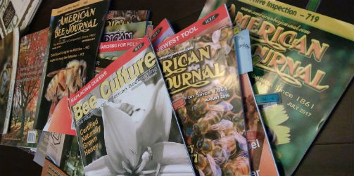 beekeeping magazines, bee culture, american bee journal