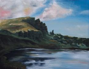oil paints, 11x14