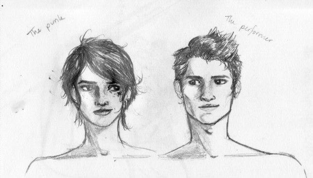 twins: Adrienne and Alexander Hilderkretz, OCs