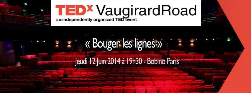 TedEXVaugirard - Bougez les lignes - JulieFromParis