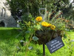 Flower festival in Kent