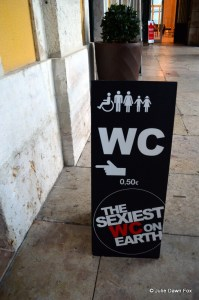 sign for sexiest wc on earth