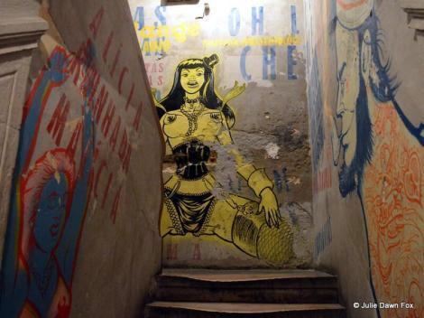 Painted advertisements, Pensão Amor, Lisbon
