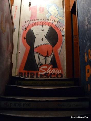 Peep show advertisement