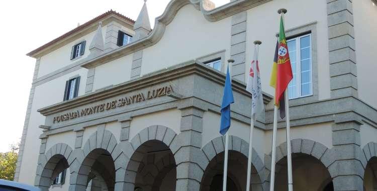 Entrance to Pousada hotel