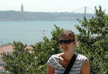 Nienke Krook in Lisbon