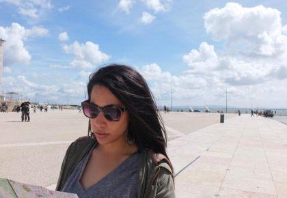 Alexis Harris in Lisbon
