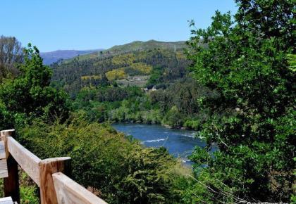 Views of Spain across the River Minho