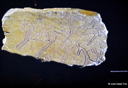 Battlefield rock art, Foz Côa Museum