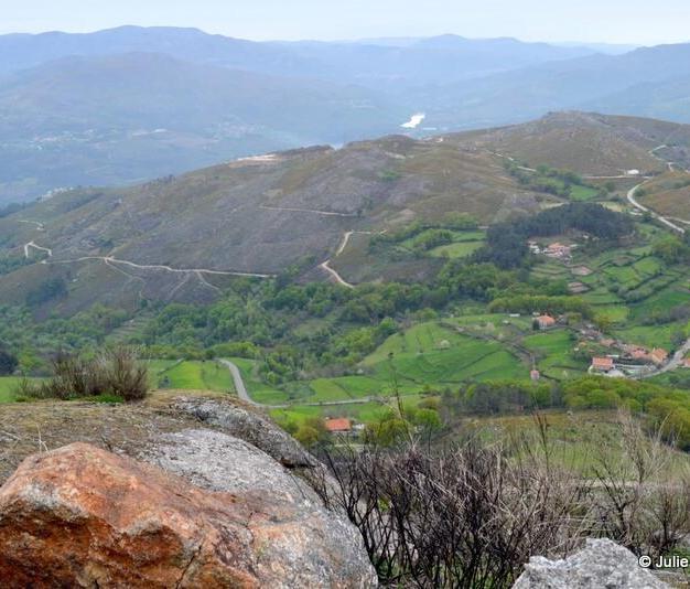 More views of Peneda Geres National Park from Castelo de Nobrega, Ponte da Barca, Portugal