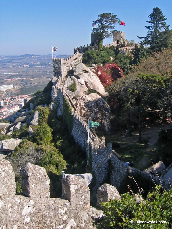 Moorish Castle walls, Sintra