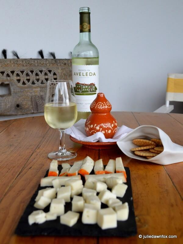 Vinho verde and cheese, Quinta da Aveleda, Penafiel