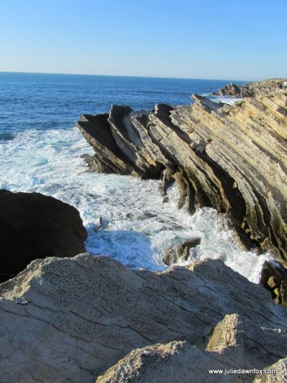 Pancake rocks at Baleal