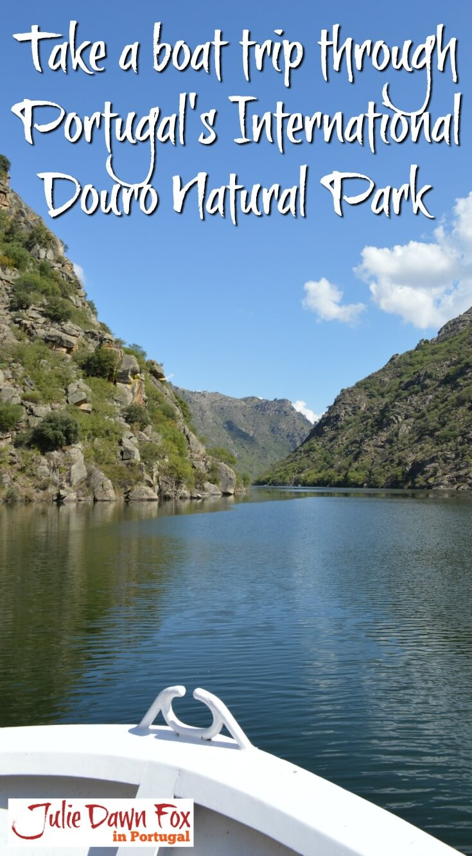 Boat trip through Douro International Natural Park, Portugal