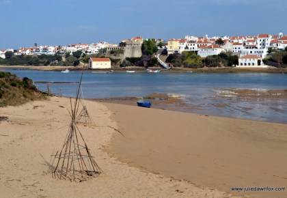 Beach and boat, Vila Nova de Milfontes, Portugal